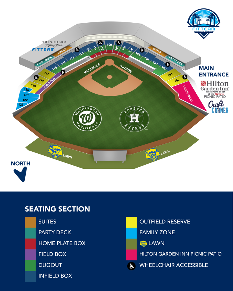 FITTEAM+Ballpark+of+the+Palm+Beaches+2020+Seating+Chart_Updated+01-31-2020