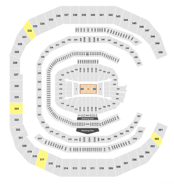 Mercedes Benz Stadium Seating Chart + Section, Row & Seat ...