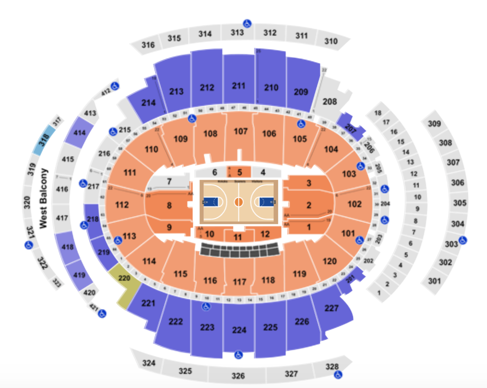 Madison Square Garden: Madison Square Garden Seating Chart + Rows, Seat And Club