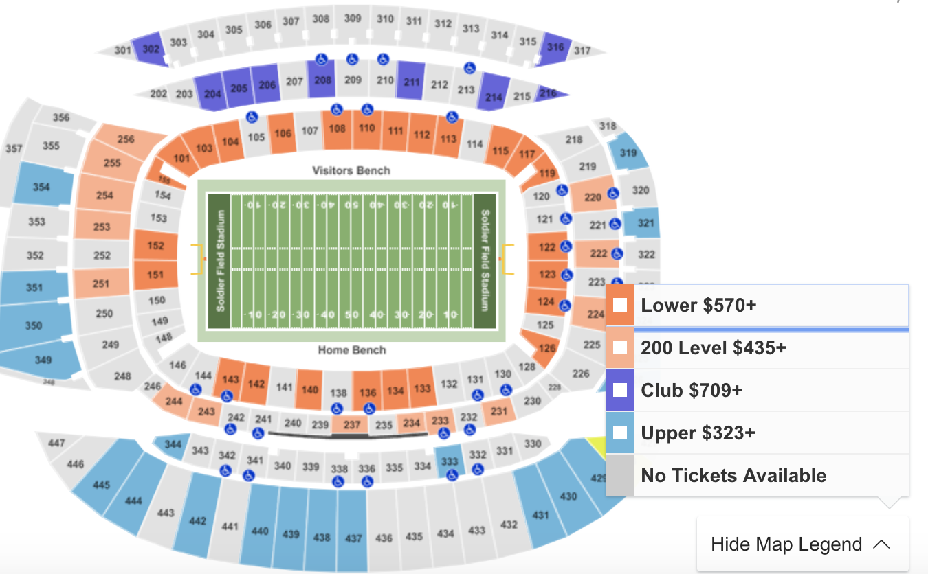 Where To Find Cheapest Bears Vs Packers Tickets In Chicago