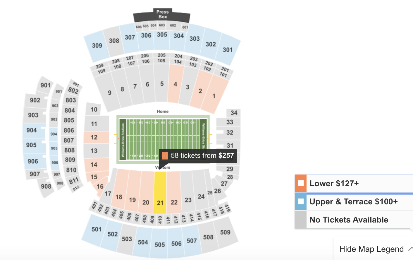 Where To Find The Cheapest South Carolina Vs. Alabama Tickets At Williams-Brice Stadium - 9/14/19