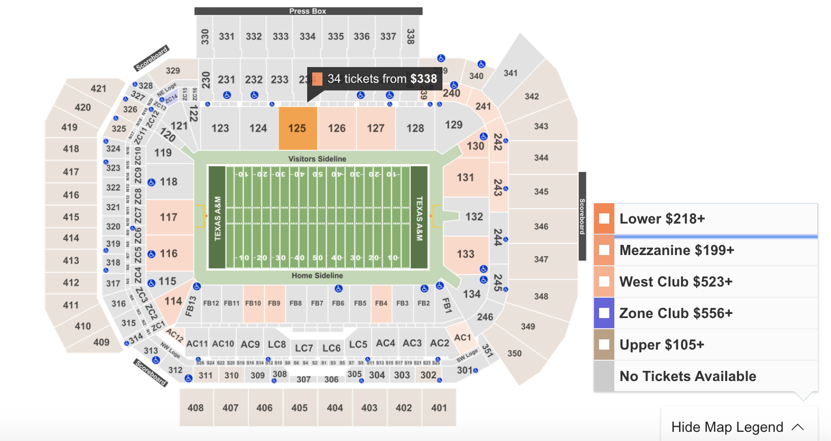 Where To Find The Cheapest Texas A&M Vs. Auburn Tickets At Kyle Field - 9/14/19