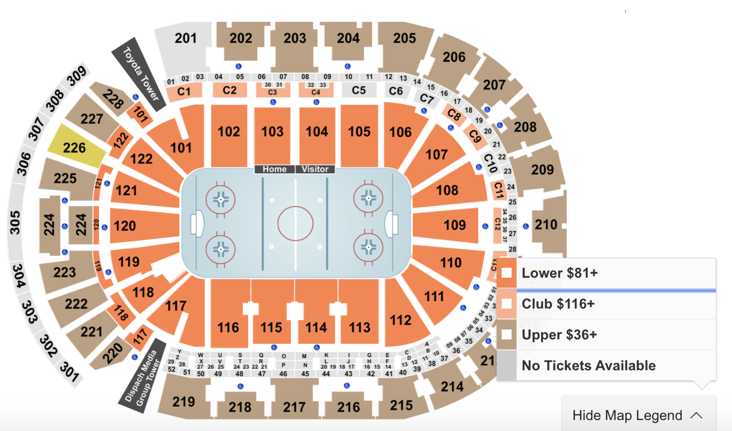 How To Find The Cheapest Columbus Blue Jackets Tickets