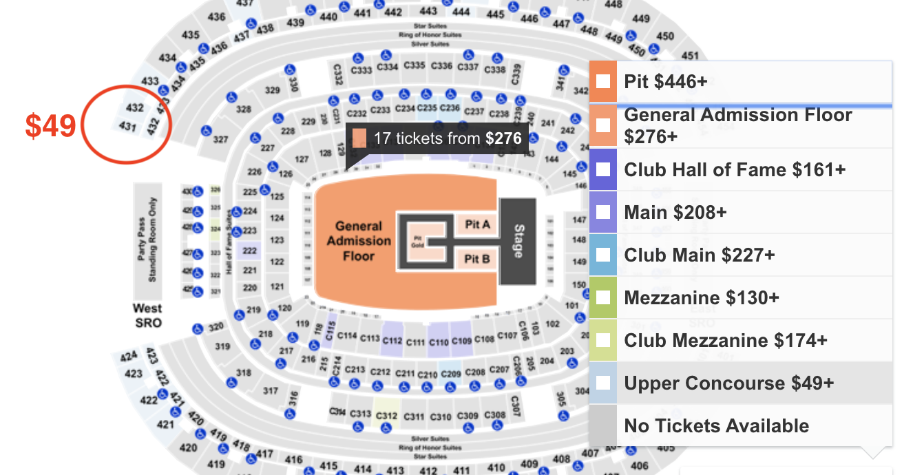 How to find cheapest Posty Fest tickets at AT&T Stadium - 11/2/19