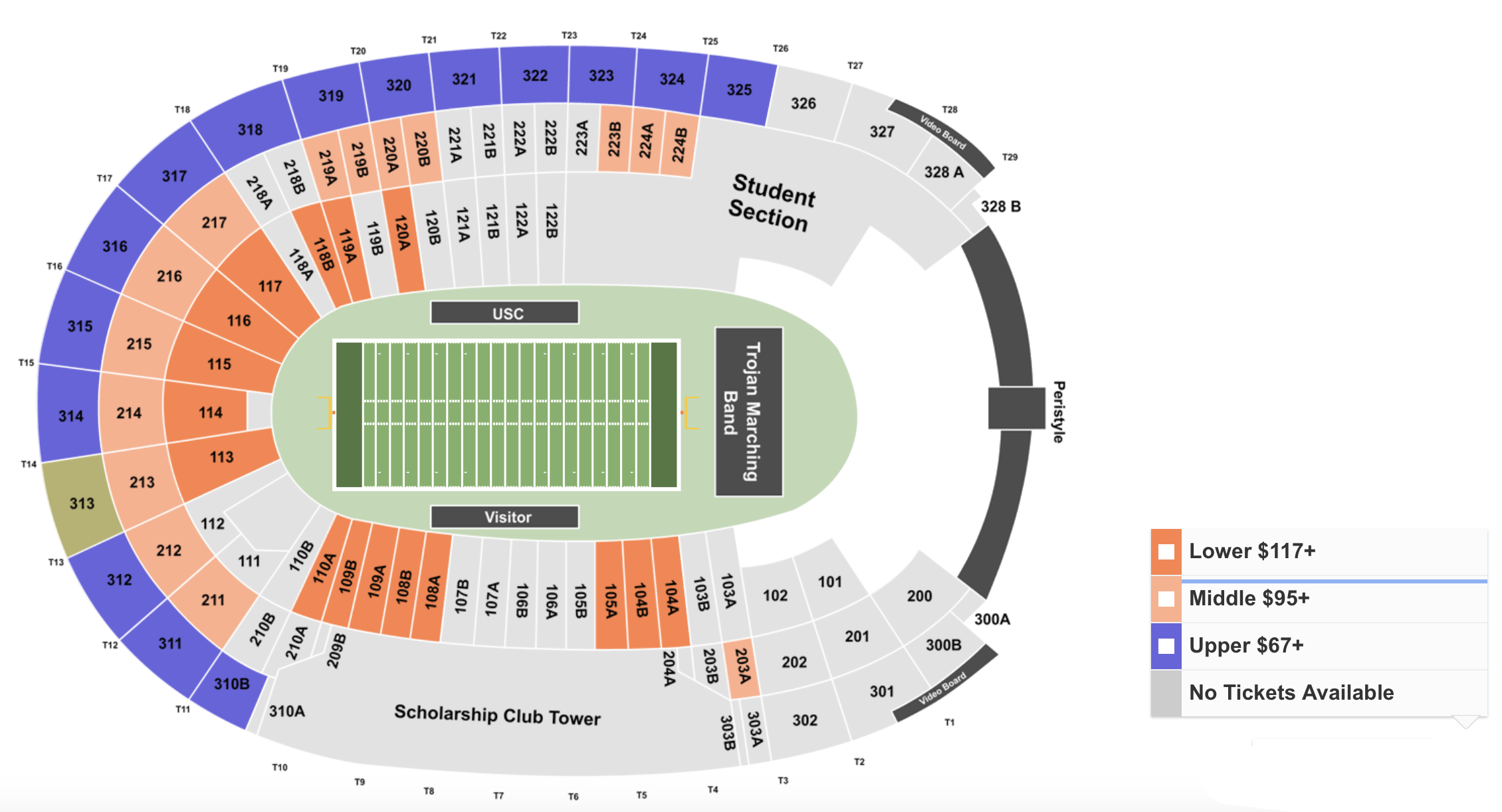 How To Find The Cheapest USC vs Stanford Tickets for 9/7/19 + Face Value Options