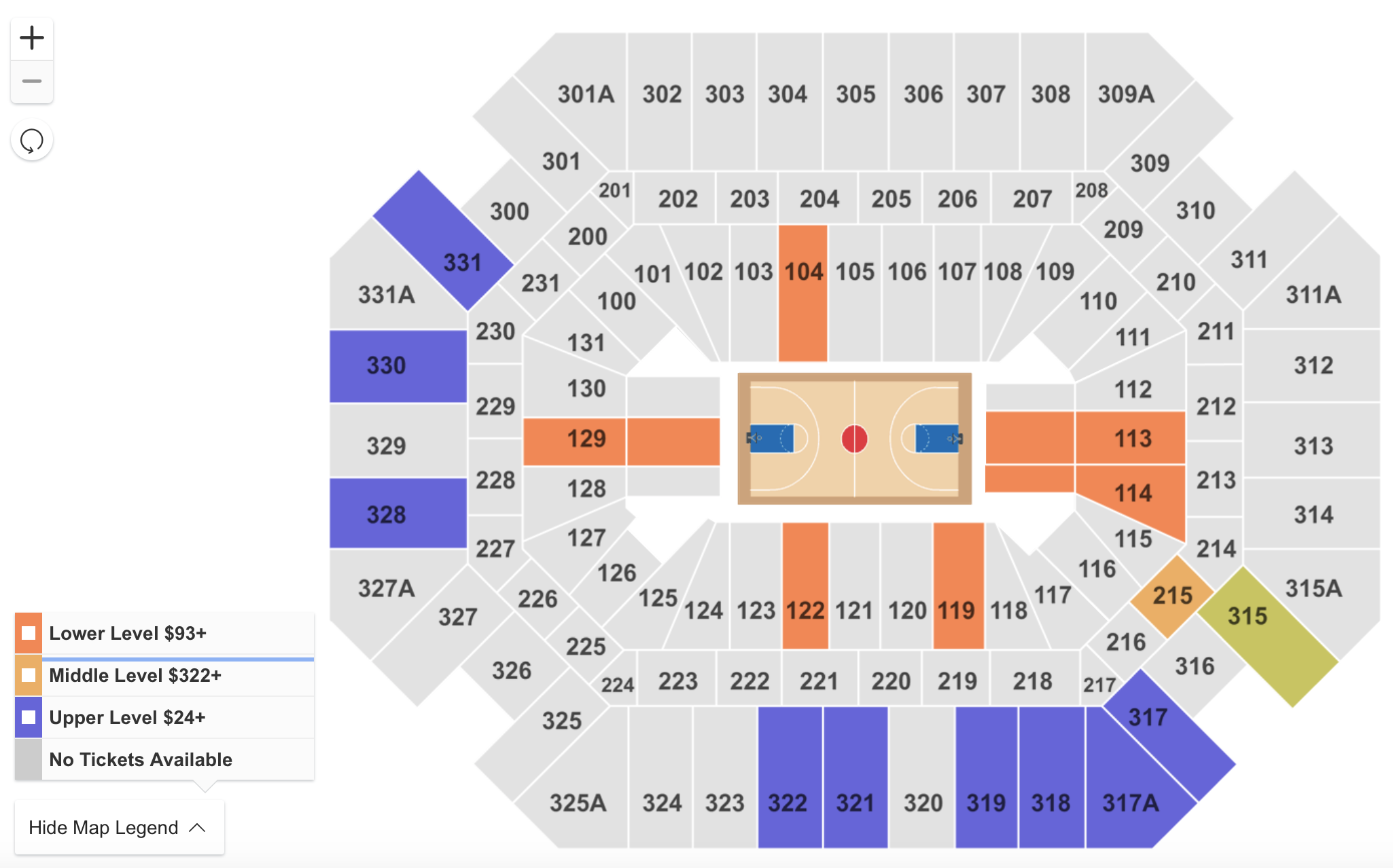 Where to Find The Cheapest Tennessee vs. Florida Basketball Tickets on 2/29