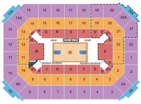 Allen Fieldhouse Seating Chart + Rows, Seats and Club Seats
