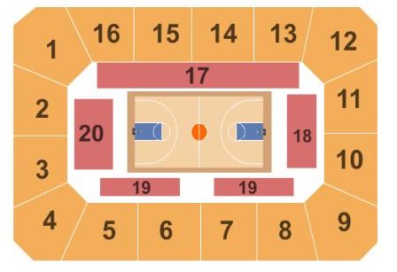 Cameron Indoor Stadium Seating Chart + Rows, Seats and Club Seats